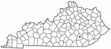 Location Of London Kentucky