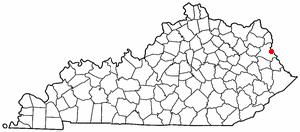 Location Of Louisa Kentucky
