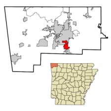 Location In Arkansas