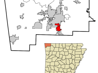 Location In Arkansas