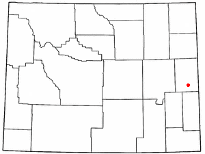 Location Of Lusk Wyoming