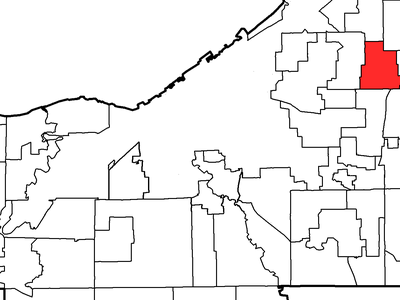 Location Of Lyndhurst In Cuyahoga County