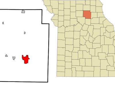 Location Of Macon Missouri