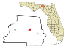 Location In Madison County And The State Of Florida