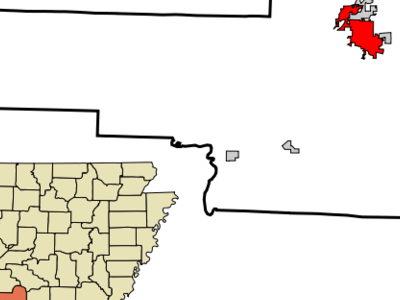 Location In Hot Spring County And The State Of Arkansas