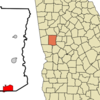 Location In Meriwether County And The State Of Georgia
