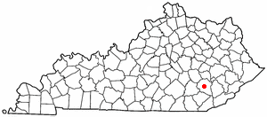 Location Of Manchester Kentucky