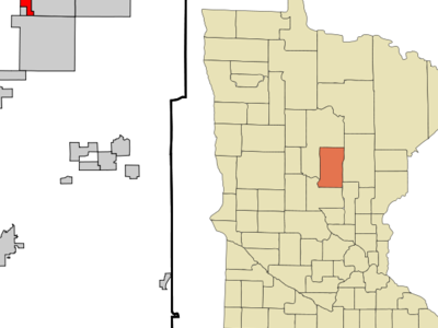 Location Of Manhattan Beach Minnesota