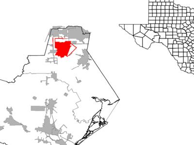 Location Of Manvel Texas