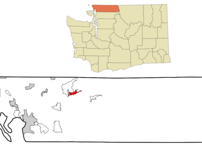 Location Of Maple Falls Washington