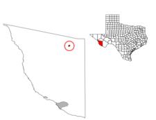 Location Of Marfa Texas