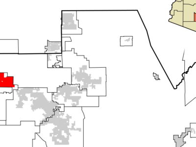 Location In Pinal County And The State Of Arizona