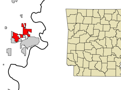 Location In Crittenden County And The State Of Arkansas