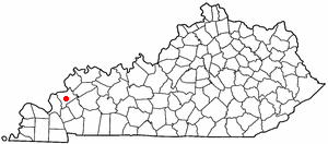 Location Of Marion Kentucky