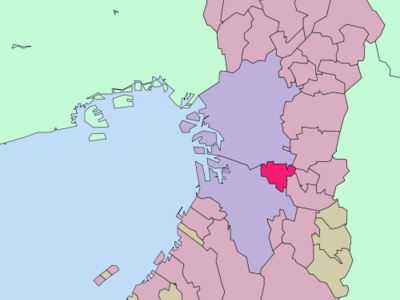 Location Of Matsubara In Osaka