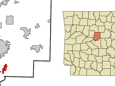 Location In Faulkner County And The State Of Arkansas