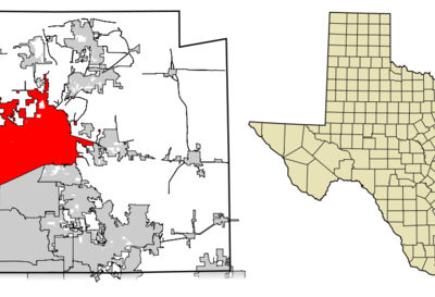 Location Of Mckinney In Collin County Texas
