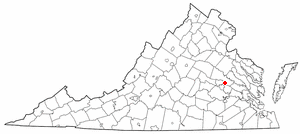 Location Of Mechanicsville Virginia
