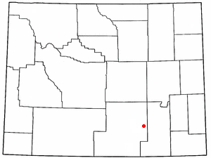 Location Of Medicine Bow Wyoming