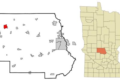Location Of Melrose Minnesota