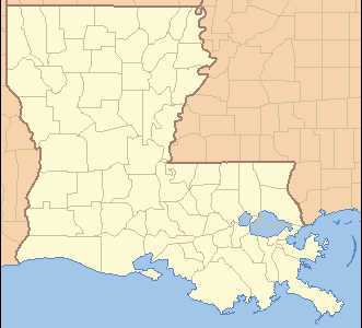 Location Of Meraux In Louisiana