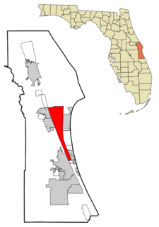 Location In Brevard County And The State Of Florida