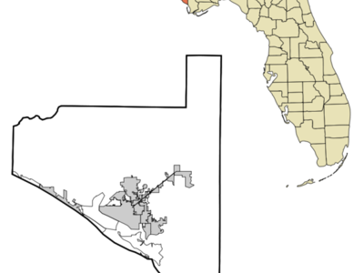 Location In Bay County And The State Of Florida