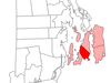 Location Of Middletown In Newport County Rhode Island