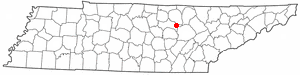 Location Of Monterey Tennessee
