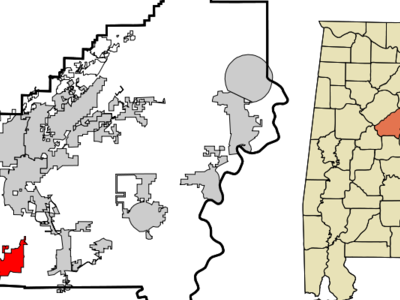 Location Of Montevallo Alabama