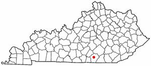 Location Of Monticello Kentucky