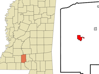 Location Of Monticello Mississippi