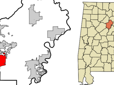 Location In St. Clair County And The State Of Alabama