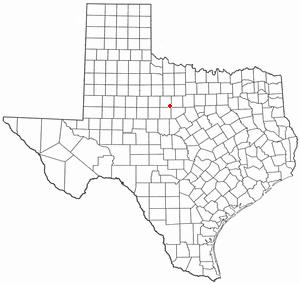 Location Of Moran Texas