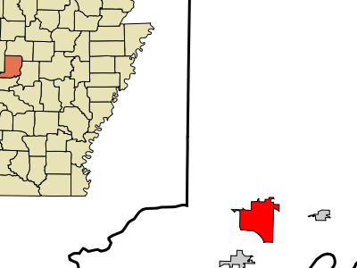 Location In Conway County And The State Of Arkansas