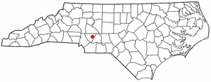 Location Of Mountpleasant North Carolina