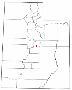 Location Of Mount Pleasant Utah