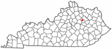Location Of Mount Sterling Kentucky