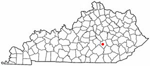 Location Of Mount Vernon Kentucky