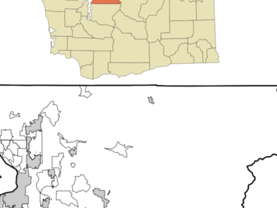 Location Of Mountlake Terrace Washington