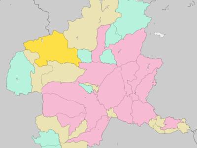 Location Of Nakanoj In Gunma