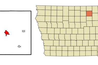 Location Of Newhampton Iowa