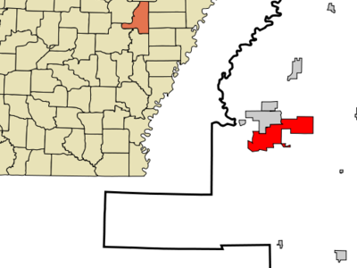 Location In Jackson County And The State Of Arkansas