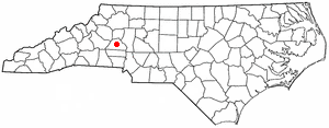 Location Of Newton North Carolina