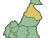Location Of North Region Within Cameroon