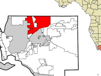 Location In Lee County And The State Of Florida