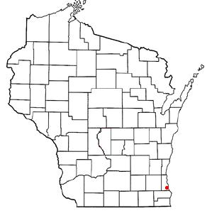 Location Of Oak Creek Wisconsin