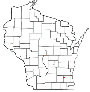 Location Of Oconomowoc In Wisconsin.