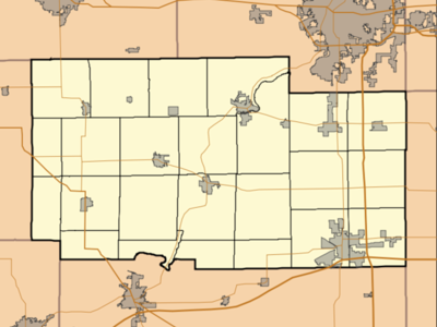 Location Within Ogle County