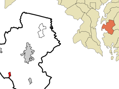 Location Of Oxford Maryland